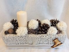 Christmas Boxes, Christmas Tabletop, Xmas Decorations, Pillar Candles, Floor Lamp, Advent, Throw Pillows, Creative, Toss Pillows