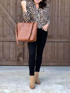 fc43397e1bf06 How To Wear Leopard at Every Level. Animal Print BlouseAnimal ...