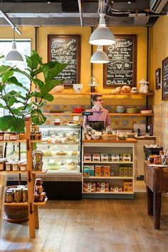 gourmet market cafe by day,