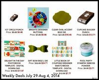See all the latest specials from Stampin' Up! www.inkandinspirations.com