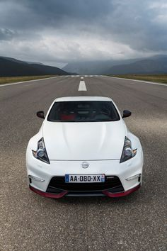 2017 Nissan 370Z Nismo front 2017 Nissan Pinterest