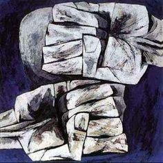 """""""Manos de la ira"""" - """"las manos"""" colección la edad de la ira, osvaldo guayasamin"""