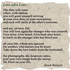 Love After Love by Derek Walcott