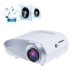 Mini Home Theater Projector LED avec Télécommande complète et HDMI, VGA, AV, SD, connexion USB