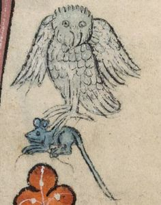 Detail from The Luttrell Psalter, British Library Add MS 42130 (medieval manuscript,1325-1340), f37r