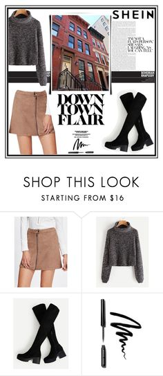 """""""Downtown Flair"""" by musicajla ❤ liked on Polyvore featuring Bobbi Brown Cosmetics"""