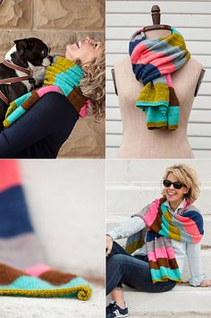 Spring Fever by Amy Miller is a fresh take on the traditional rugby scarf. With endless striping possibilities this gorgeous accessory is the perfect canvas to reflect your colour personality. Work...
