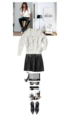 """""""Why Hello?¡?"""" by thehamptonsgirl ❤ liked on Polyvore featuring Dogeared, Zara and Ray-Ban"""
