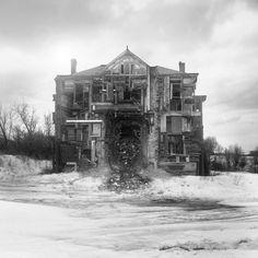 Jim Kazanjian - Iper-collage - Untitled (facade), 2010