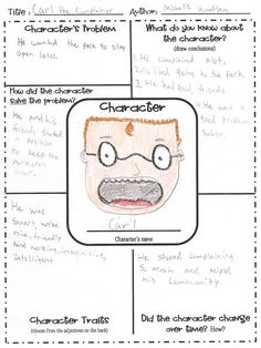 Character Map - Would be great in guided reading with higher levels or do a something similar as an anchor chart for a mini lesson. Reading Lessons, Reading Skills, Teaching Reading, Reading Strategies, Reading Groups, Guided Reading Activities, Reading Logs, Reading Art, Close Reading