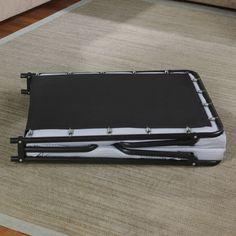 Portable Folding Bed Memory Foam Mattress Guest Room Bedding Folds Flat Single #Beautyrest