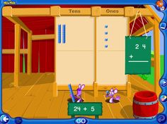 """In """"Place Value Block Busters"""" students practice solving addition problems using place value blocks with Tally and his friends. #ccss 1.NBT.B.2, 1.NBT.B.2a, 1.NBT.B.2b, 1.NBT.C.4, 2.NBT.A.1, 2.NBT.A.1a,  2.NBT.B.5 2.NBT.B.7"""