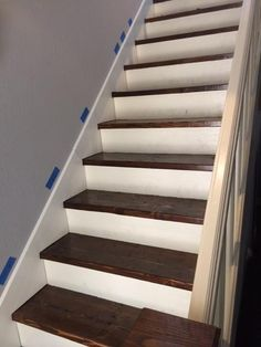 Charming How To Make A Skirt Board For Preexisting Stairs.