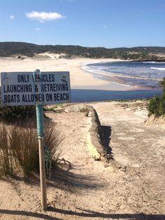 Hanson Bay on the south coast of Kangaroo Island. Great for fishing.