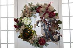 My Initial Wreath