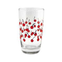 Cheery Cherries Glass