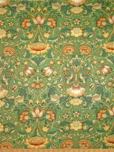 William Morris - PreRaphaelite Designer - Wallpaper - Vintage Liberty of London fabric