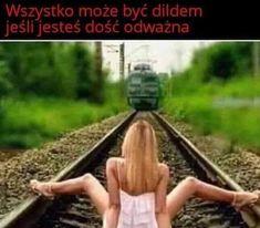 • • • #czarno_to_widze #czarnyhumor #czarnyhumorinietylko #mem #memy #funny #funnypicture #f4f #l4l #humor #beka #smieszne #suchar #sucharek #sucharcodzienny #beczka #beczkasmiechu #xd #hehehe #heheszki #funnymeme #funnymemes #crazy Railroad Tracks, Funny Memes, Hilarious Memes, Train Tracks, Funny Quotes