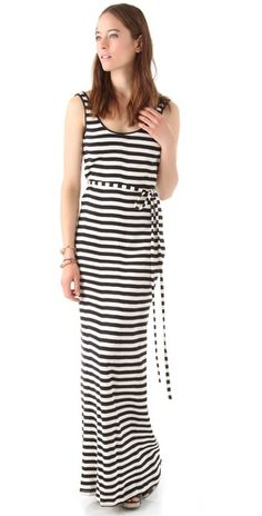 Striped Maxi dress...amazing if I were 5 inches taller