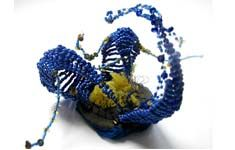 Emmanuelle Dupont Atelier D Art, Fibre Art, Textile Art, Mixed Media, Fiber, Arts And Crafts, Textiles, Sculpture, Embroidery