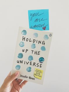 Holding Up The Universe, by Jennifer Niven and my favourite quotes up on my blog today.