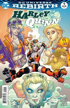 HARLEY QUINN #9 (2016)