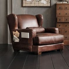 Leatherchair for the nursery one-thousand-six-hundred-and-ninety-eight euro