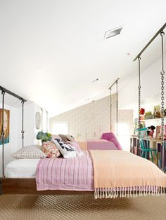 Attic girls room
