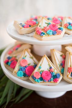 Flower-filled terrarium cookies from a Boho Backyard Brunch Birthday Party on Kara's Party Ideas   KarasPartyIdeas.com (15)