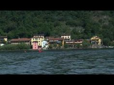 Christo the Floating Piers project for Lake Iseo - Discover italy - YouTube