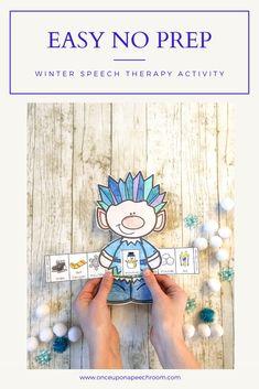 Best Indoor Garden Ideas for 2020 - Modern Interactive Activities, Preschool Activities, Preschool Speech Therapy, Language Activities, Speech And Language, Jack Frost, Sliders, Homework, Speech Room