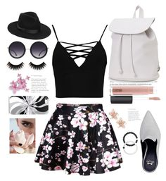 """""""Skirt❤"""" by evelynn-cole ❤ liked on Polyvore featuring WithChic, Boohoo, Aéropostale, Lokai, NAKAMOL, MAC Cosmetics, Alice + Olivia and Lack of Color"""