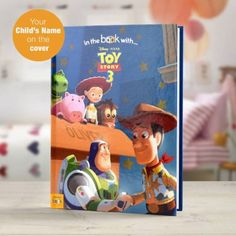Toy Story 3 is Disney's second sequel to their smash hit classic film, Toy Story. This book faithfully recounts the story of Toy Story and is an ideal gift for any fans of the Toy Story franchise. Story Tale, Toy Story 3, Disney Toys, Disney Films, Personalised Childrens Books, Disney Marvel, Classic Films, The Book, Coloring Books