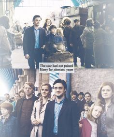 the scar had not pained Harry for nineteen years