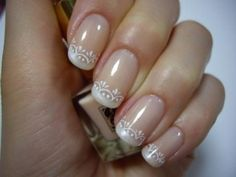 French manicure wedding nails are elegant and pretty, but you may want to give a modern update to the classic french manicure. Description from pinterest.com. I searched for this on bing.com/images