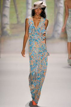 Tracy Reese Spring 2012 RTW...lovely colors.