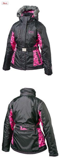 8b4c4d596f0 Divas SnowGear Divine Jacket (Black Fuchsia