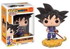 Funko Pop! Dragon Ball Z: Goku & Flying Nimbus - The Mighty Collector