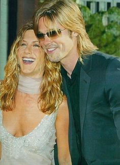 Brad and Jennifer