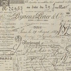 vintage french paper...love this