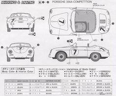 Porsche 356 drawing