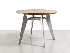 jean-prouve-table cafeteria-ronde1