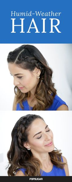 Don't let sweaty, humid weather control your hairstyle! This cute braided hair tutorial is the perfect style to try for Summer — and it's fast and easy to create!