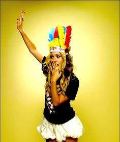 Mary Kate Olsen Female photoshoot inspiration Indian head dress