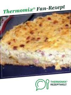saftiger Zwiebelkuchen von Daniditt. Ein Thermomix ® Rezept aus der Kategorie Backen herzhaft auf www.rezeptwelt.de, der Thermomix ® Community.