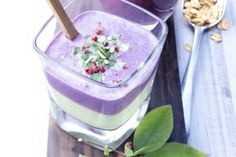 wild blueberry avocado smoothie