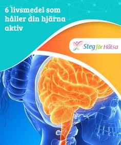 6 livsmedel som håller din hjärna aktiv  Visste du att mörk #choklad (ju renare desto bättre) hjälper till att #förbättra din hjärn- och hjärthälsa? Att äta det #regelbundet hjälper oss #även att må bättre.