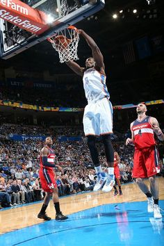 Serge Ibaka notched 25 points, 12 rebounds and three blocks in the Thunder's 106-105 overtime win over the Washington Wizards.