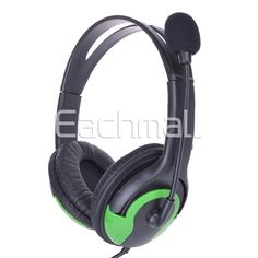 [18% OFF]2 In 1 USB Wired Gaming Headset for PS3/PC Black   Green Points Shop