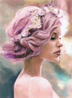 #pinkhair #study #oldie